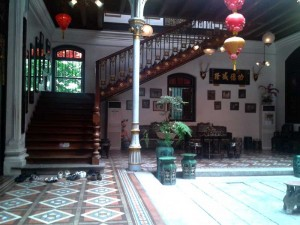 Peranakan Mansion. Photo from : ranselkecil.com
