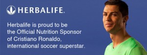 Herbalife support CR7.