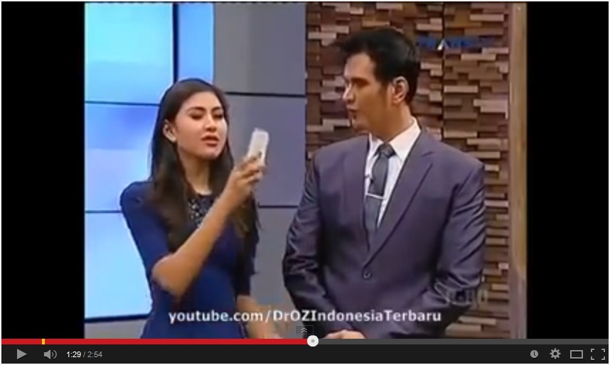 Ulasan Nano Spray di Dr. Oz Indonesia Trans TV