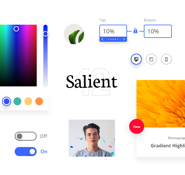 Salient - Responsive Multi-Purpose Theme - 1